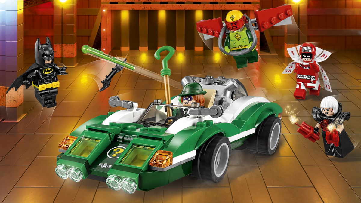Il Riddle Racer di The Riddler™