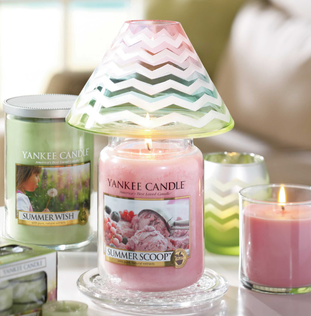 Summer Scoop Yankee Candle in promozione del 25%