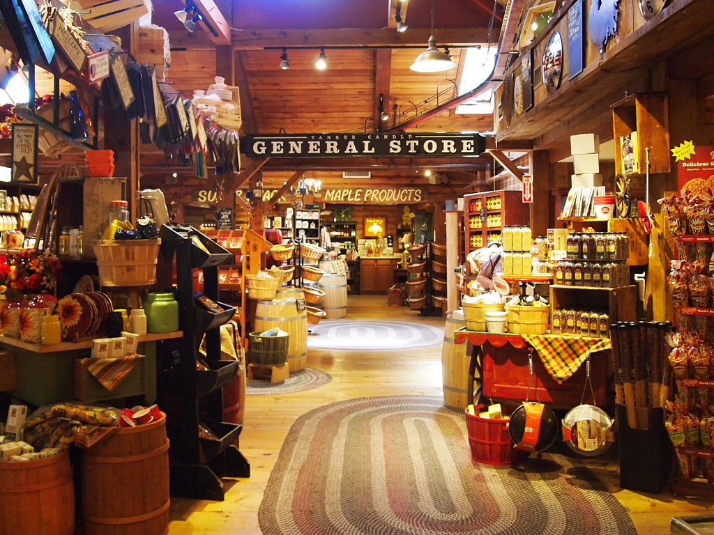 Yankee Candle Village, Deerfield, Massachusetts