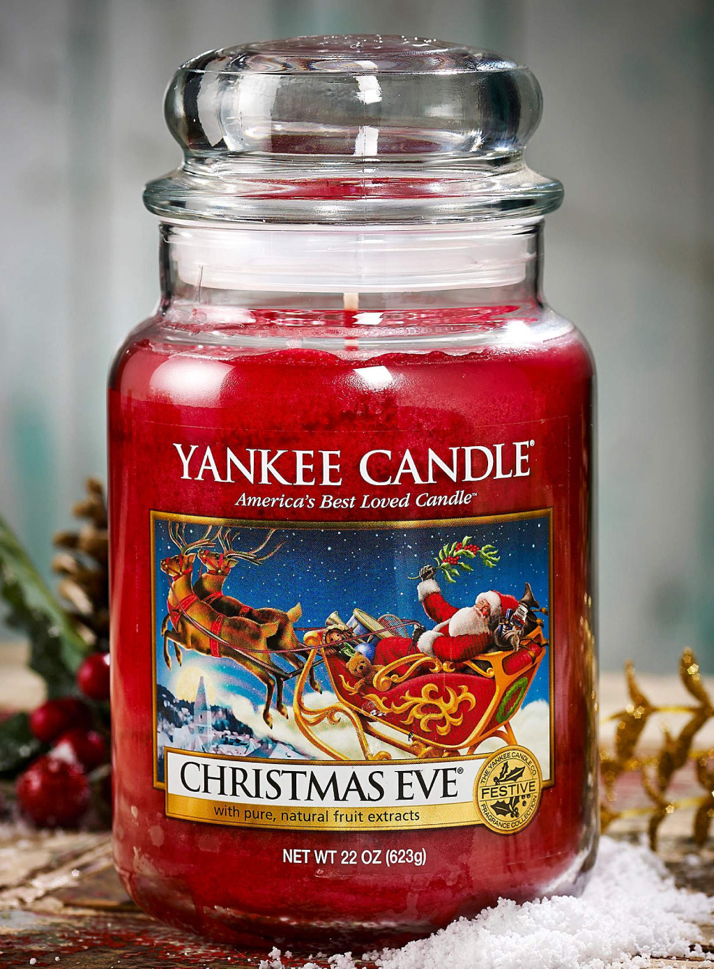 Christmas Eve Yankee Candle in promozione del 25%