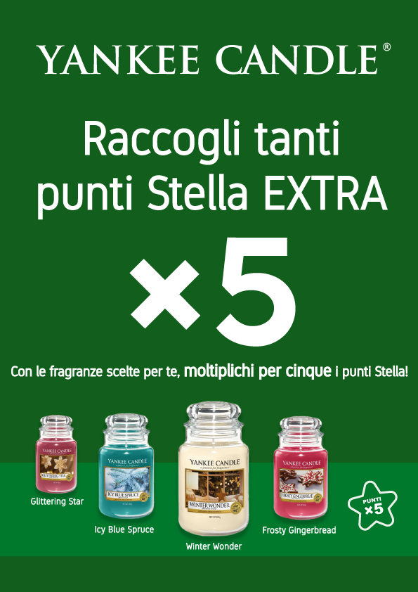 Promozioni Yankee Candle Fidelity Card Mister Wizard