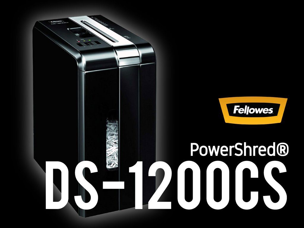 Fellowes PowerShred® DS-1200Cs