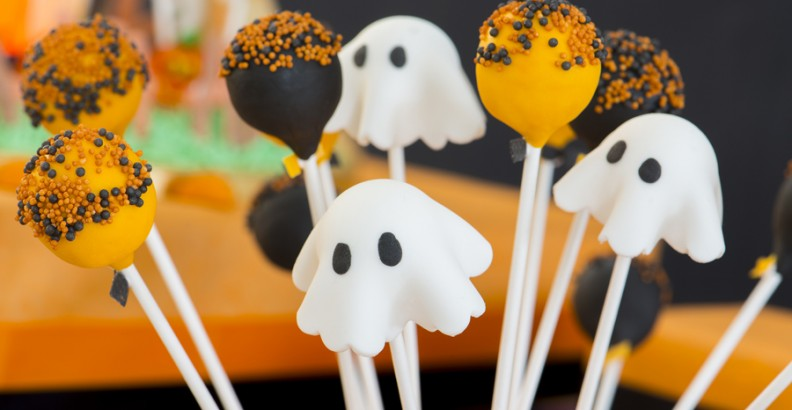 Spaventosi Cake Pops con Mister Wizard