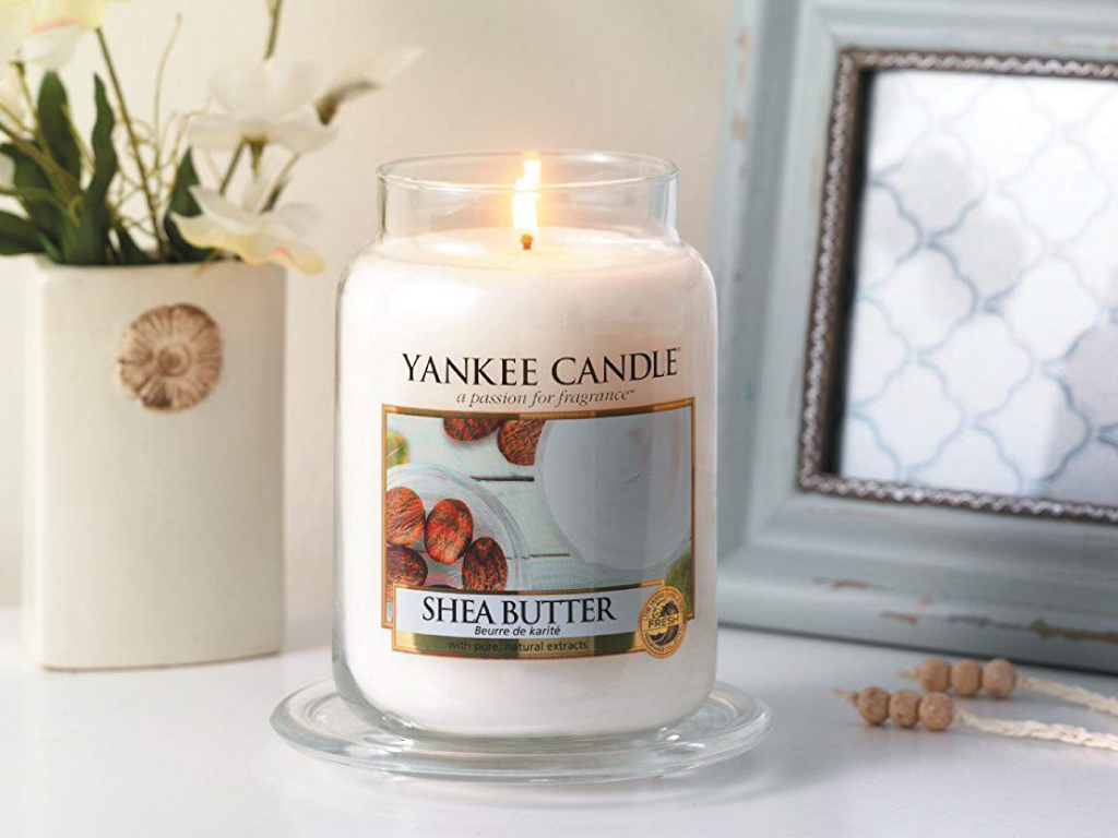 Shea Butter Yankee Candle in promozione del 25%