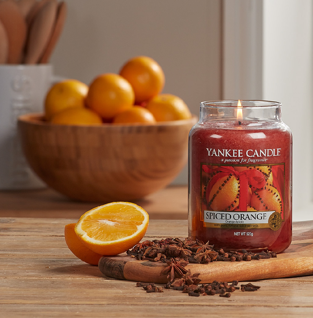 Spiced Orange Yankee Candle